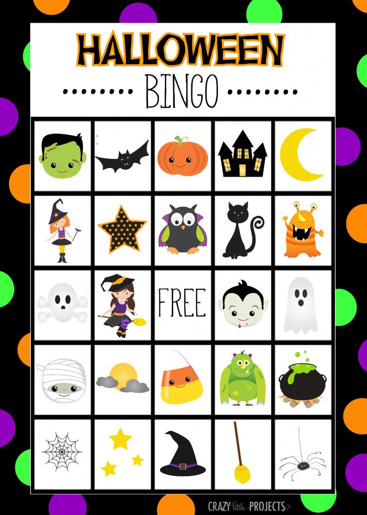 Halloween Bingo - Cute Free Printable Game | Halloween | Halloween | Printable Halloween Bingo Cards