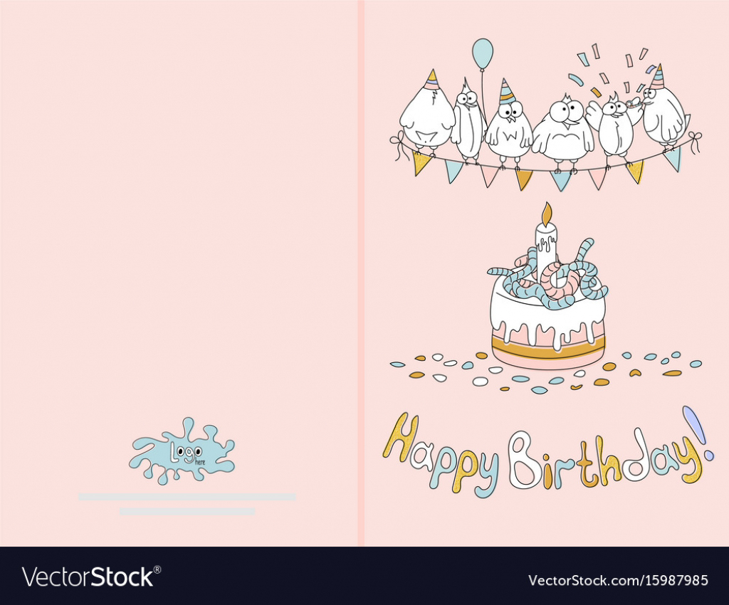 Happy Bday Cards To Print - Kleo.bergdorfbib.co   Happy Birthday Card Printable