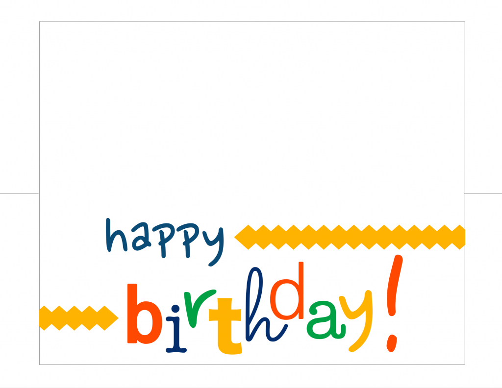 Happy Birthday Card Free Printable - How Do The Jones Do It | Free Printable Happy Birthday Cards