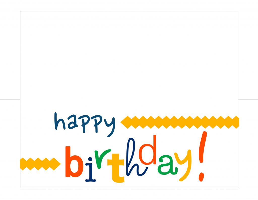 Happy Birthday Card Free Printable - How Do The Jones Do It   Happy Birthday Card Printable