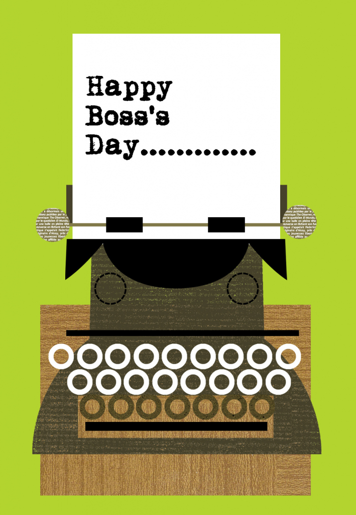 Happy Boss Day - Boss Day Card (Free) | Greetings Island | Bosses Day Cards Printable