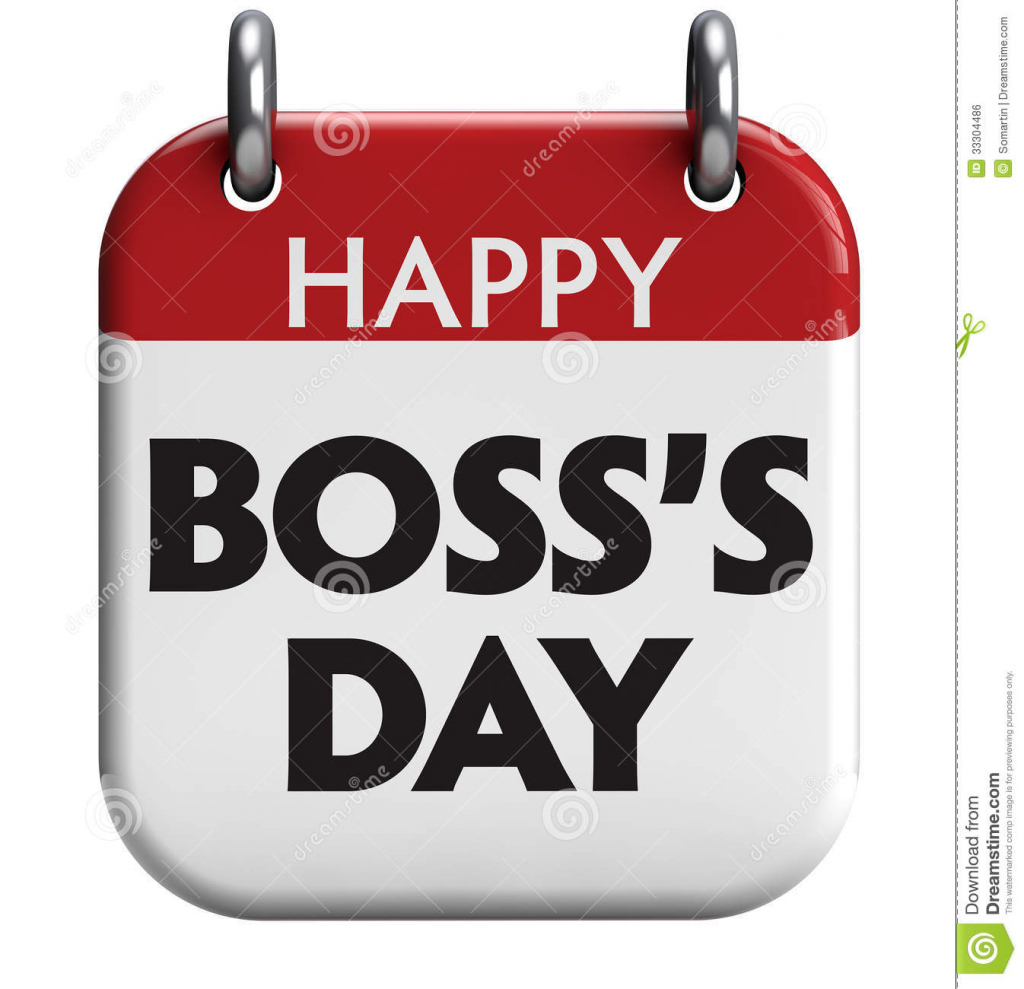 Happy Boss's Day Stock Illustration. Illustration Of Happy - 33304486   Boss's Day Printable Cards