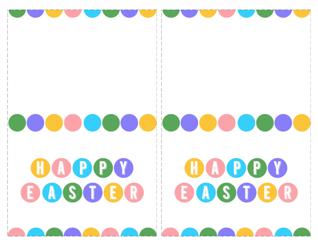Happy Easter Cards Printable - Free - Paper Trail Design   Free Printable Easter Cards To Print