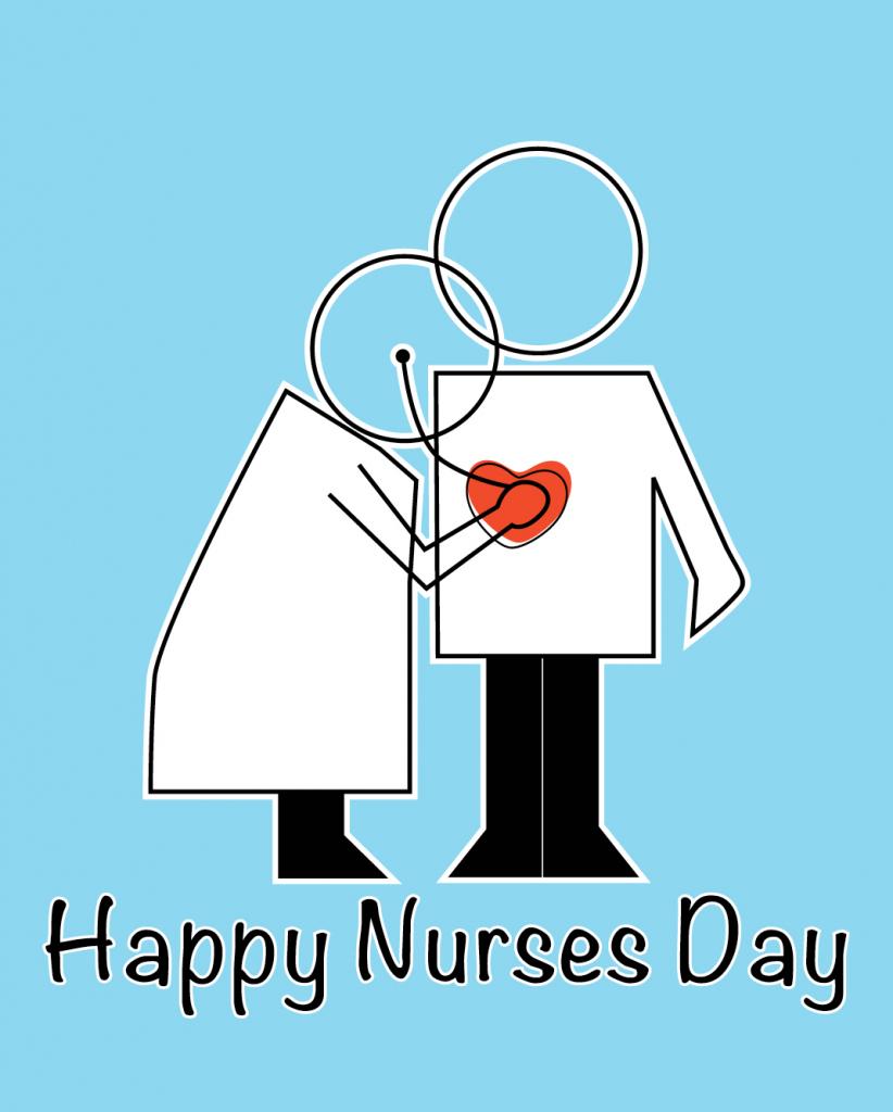 Happy Nurses Day | Pugsleyprints | Nurses Day Cards Free Printable
