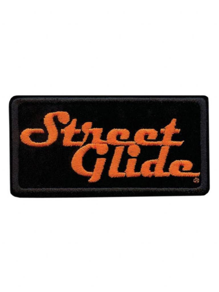Harley-Davidson Embroidered Street Glide Emblem Patch, Small 4 X 2 | Printable Harley Davidson Gift Cards