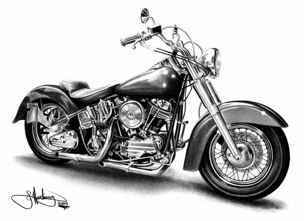 Harley Davidson Motorcycles   Printable Harley Davidson Coloring   Harley Davidson Cards Printable
