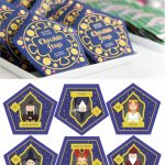 Harry Potter Chocolate Frogs   Free Printable Template For Diy   Printable Harry Potter Wizard Cards