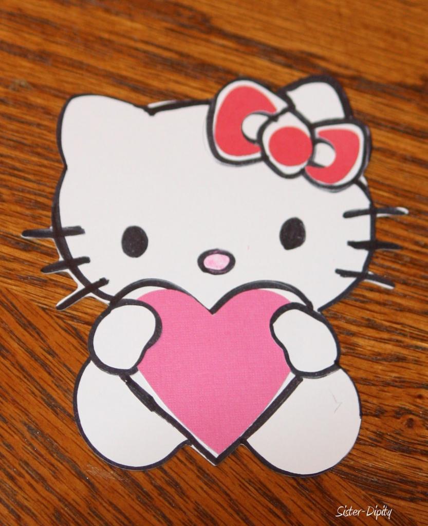 Hello Kitty Valentine's Day Cards Printable. Sisterdipity Valentines | Hello Kitty Valentines Day Cards Printable