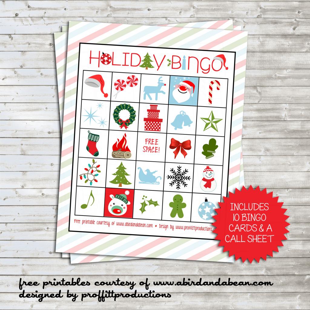 Holiday Bingo Set :: Free Printable | Free Printable Bingo Cards And Call Sheet