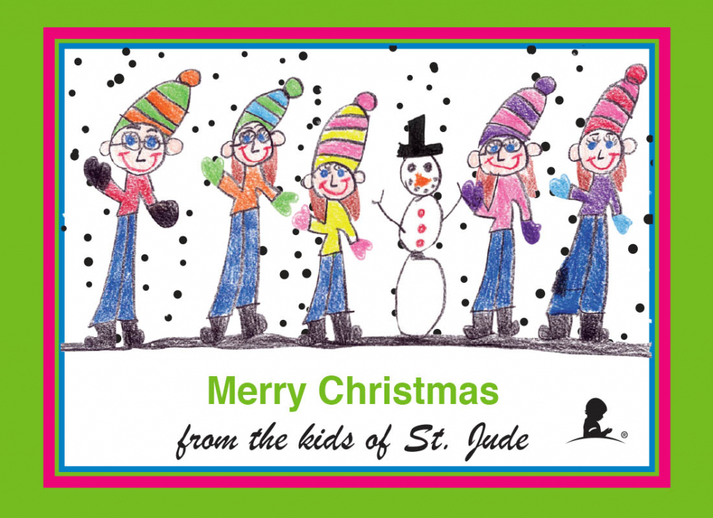 Holiday Cards - Ecards, Printable Cards, Mail Cards - St. Jude   St Jude Printable Cards