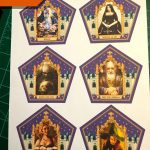 Honeyduke's Chocolate Frog Cards: 3 Steps   Printable Harry Potter Wizard Cards