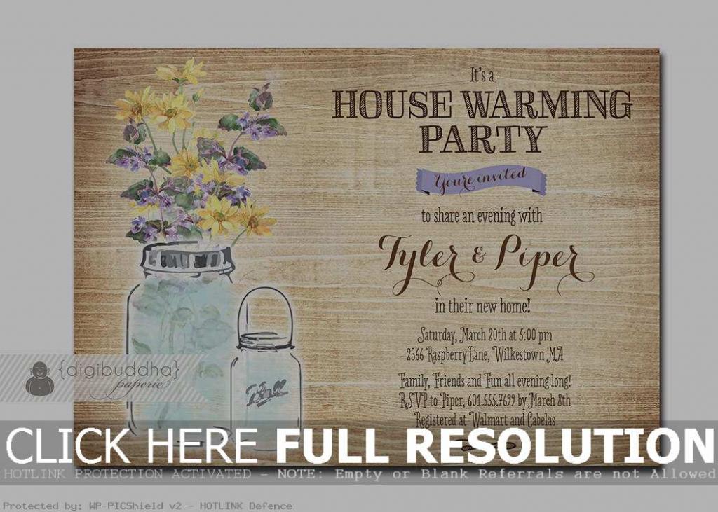 Housewarming Invite Template Free - Under.bergdorfbib.co | Free Printable Housewarming Invitations Cards