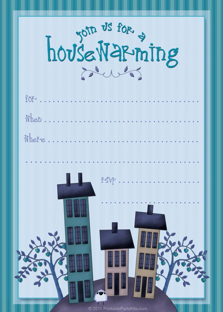 Housewarming Invite Template | Tanveer | Housewarming Party | Free Printable Housewarming Invitations Cards