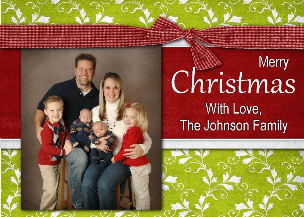 How To Make Christmas Photo Cards Online For Free - Kleo.bergdorfbib.co   Free Online Christmas Photo Card Maker Printable