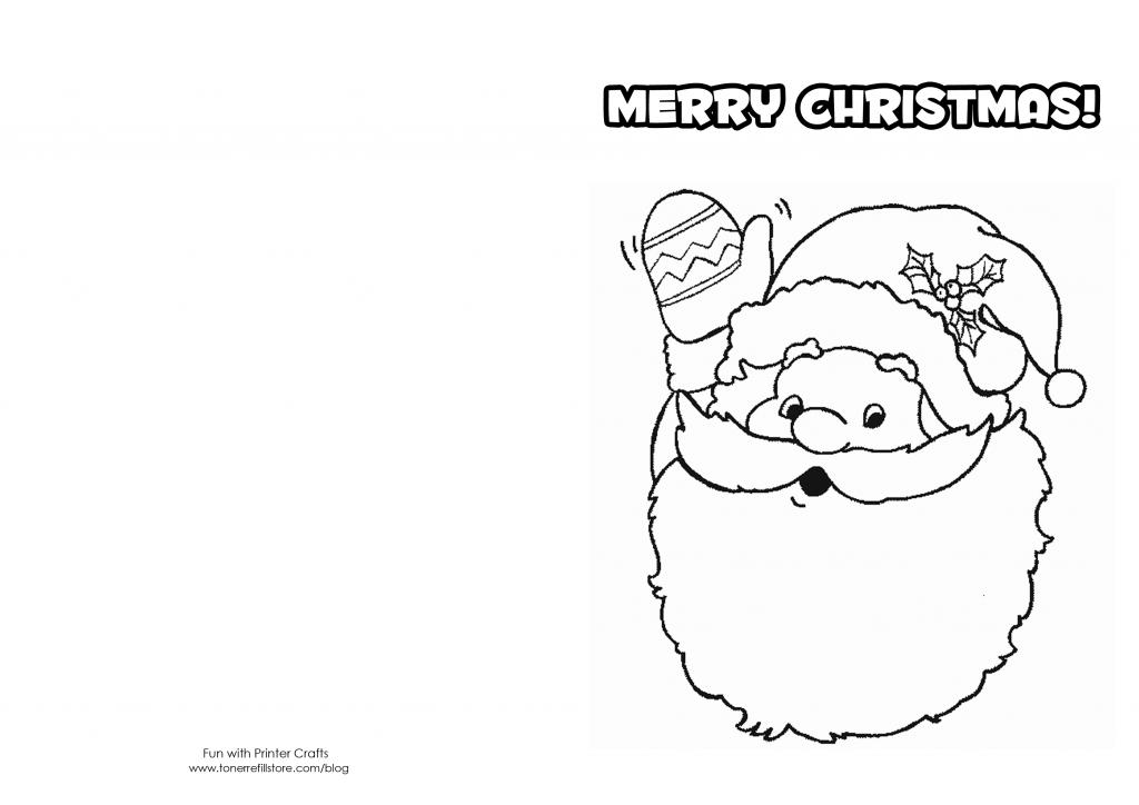 How To Make Printable Christmas Cards For Kids To Color - Fun With   Printable Christmas Cards For Kids