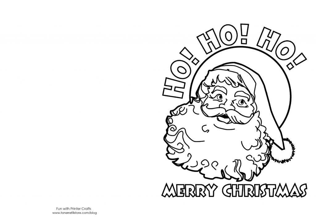 How To Make Printable Christmas Cards For Kids To Color - Fun With | Printable Christmas Cards To Color