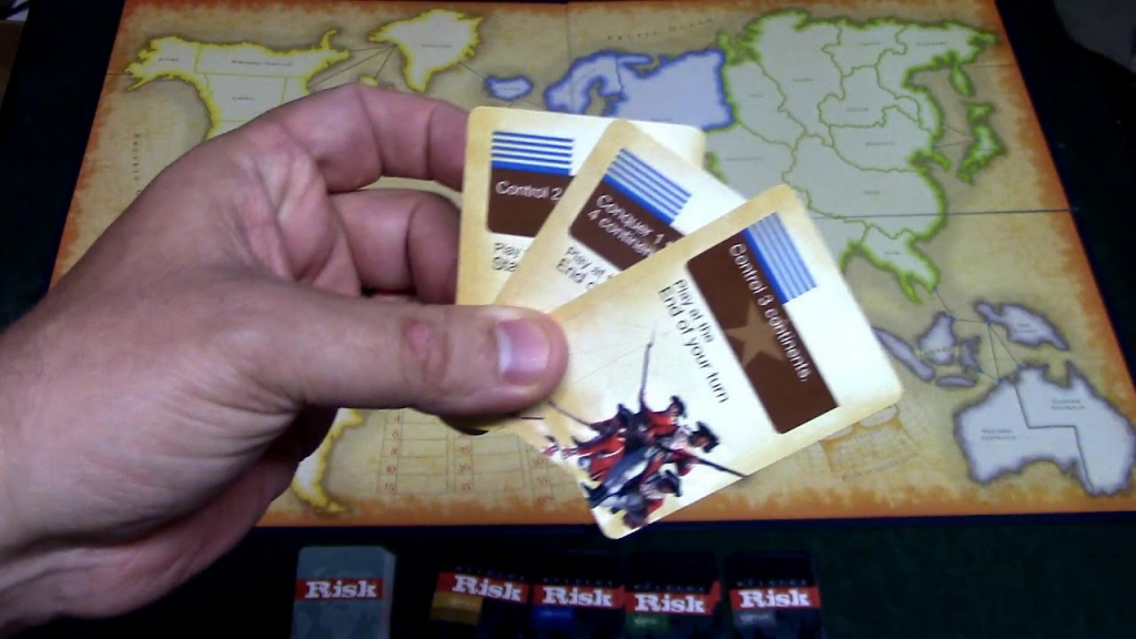 How To Play Risk Board Game With Mission Cards - Youtube | Risk Secret Mission Cards Printable