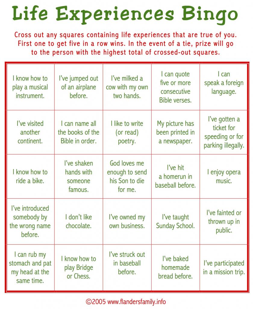 Ice Breaker Bingo (Free Printable) - Flanders Family Homelife | Printable Icebreaker Bingo Cards