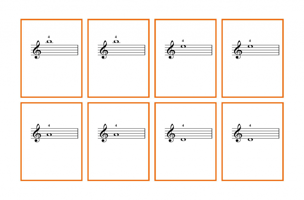 Image Result For Beginner Piano Flash Cards Printable   Flashcards   Piano Music Notes Flash Cards Printable
