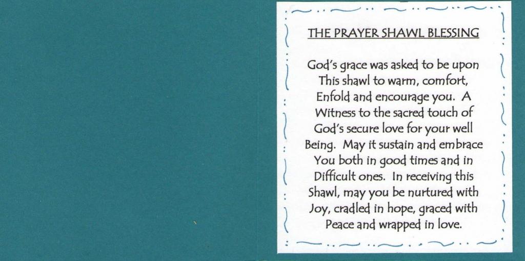 Image Result For Prayer Shawl Card   Prayer Shawl Ministry   Crochet   Printable Prayer Shawl Cards