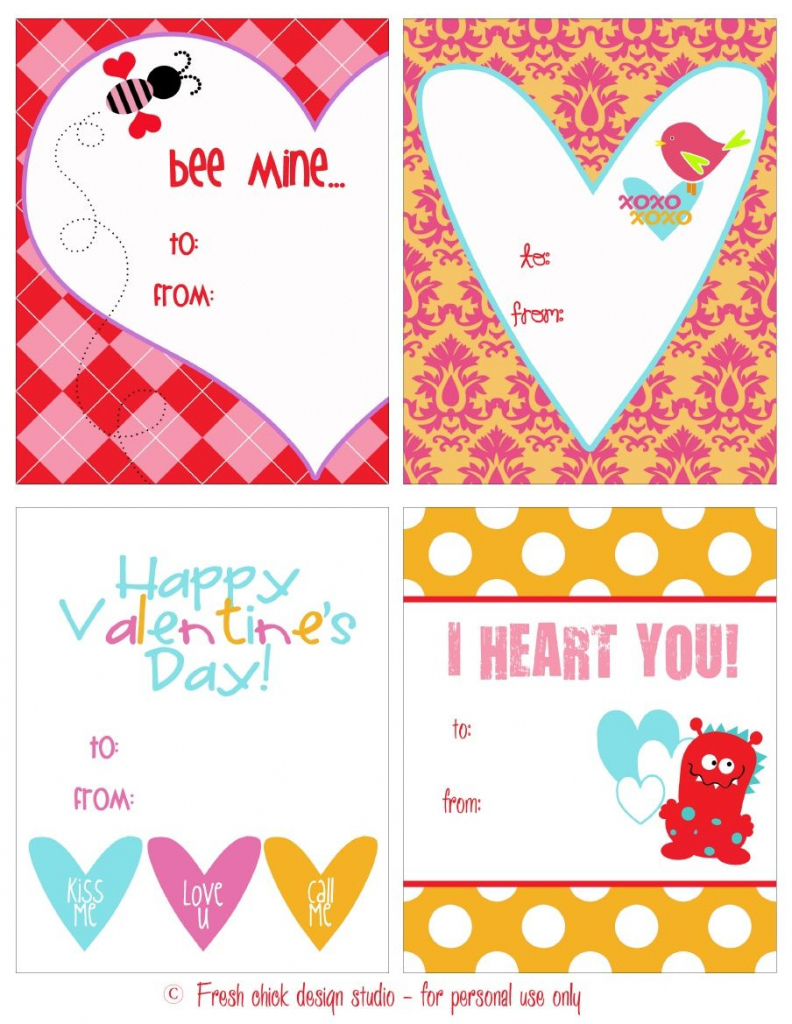 Just Because I Love You - Valentine's Cards | Randen En Patronen | Just Because I Love You Cards Printable