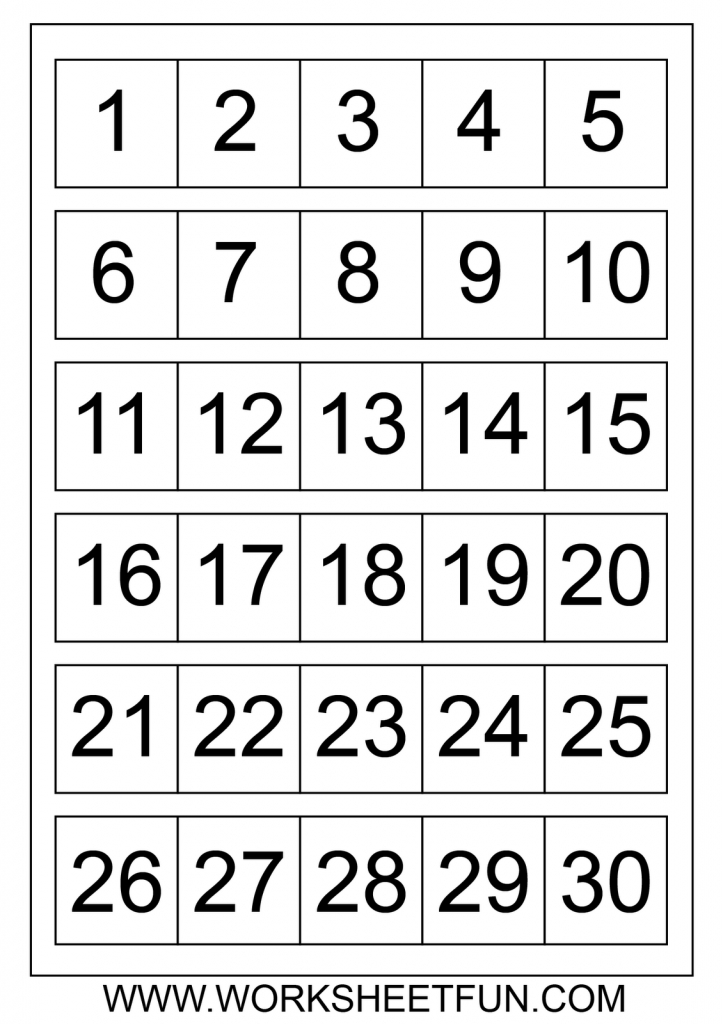 Large Printable Numbers 1 100 | To Dot With Numbers Printable | Number Flash Cards Printable 1 20