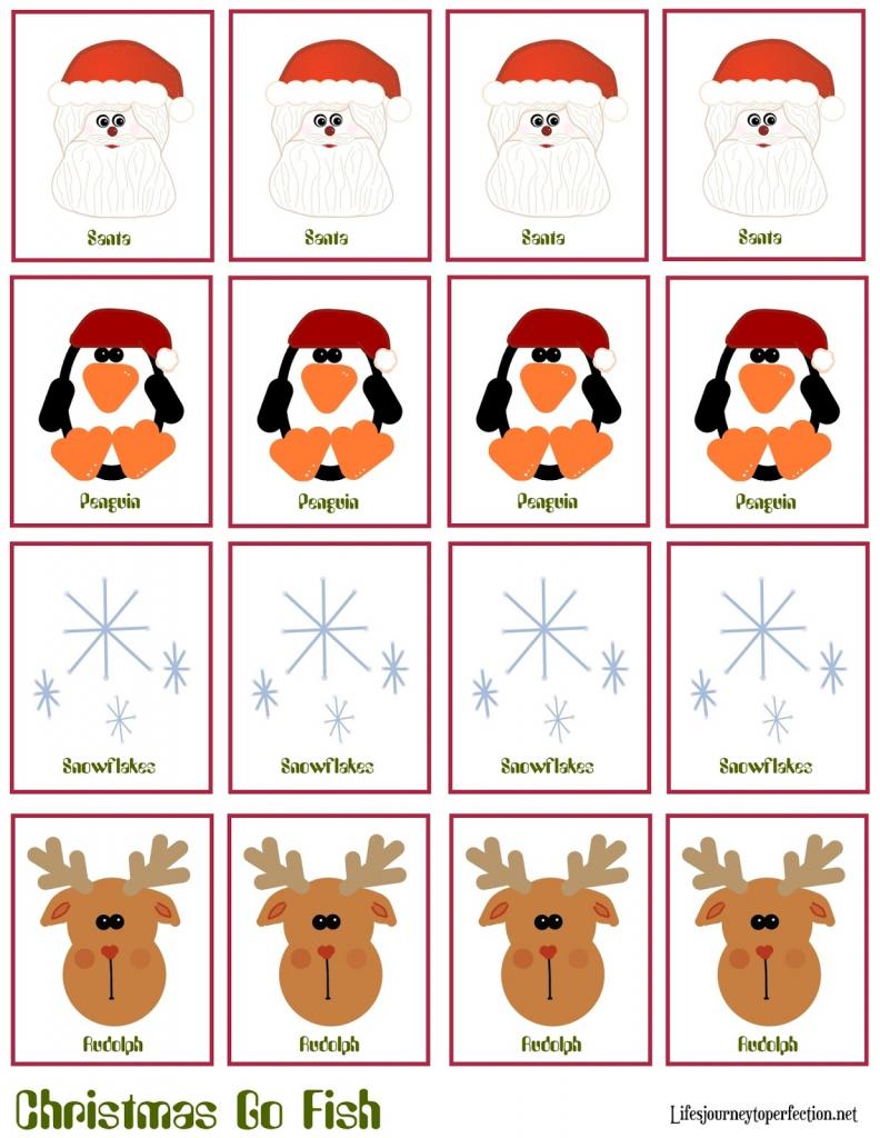 "Life's Journey To Perfection: Christmas Craft: Christmas ""go Fish   Printable Go Fish Cards"