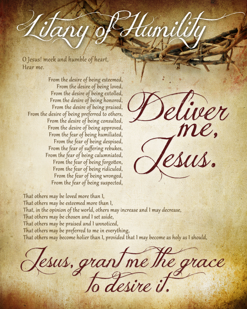 Litany Of Humility Free Printable - How To Nest For Less™ | Free Printable Catholic Prayer Cards