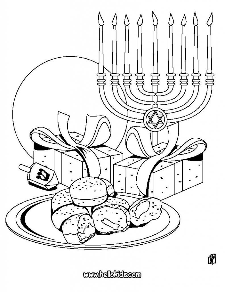 Looking For Free Printable Hanukkah Coloring Pages? Look No Further | Printable Hanukkah Cards To Color