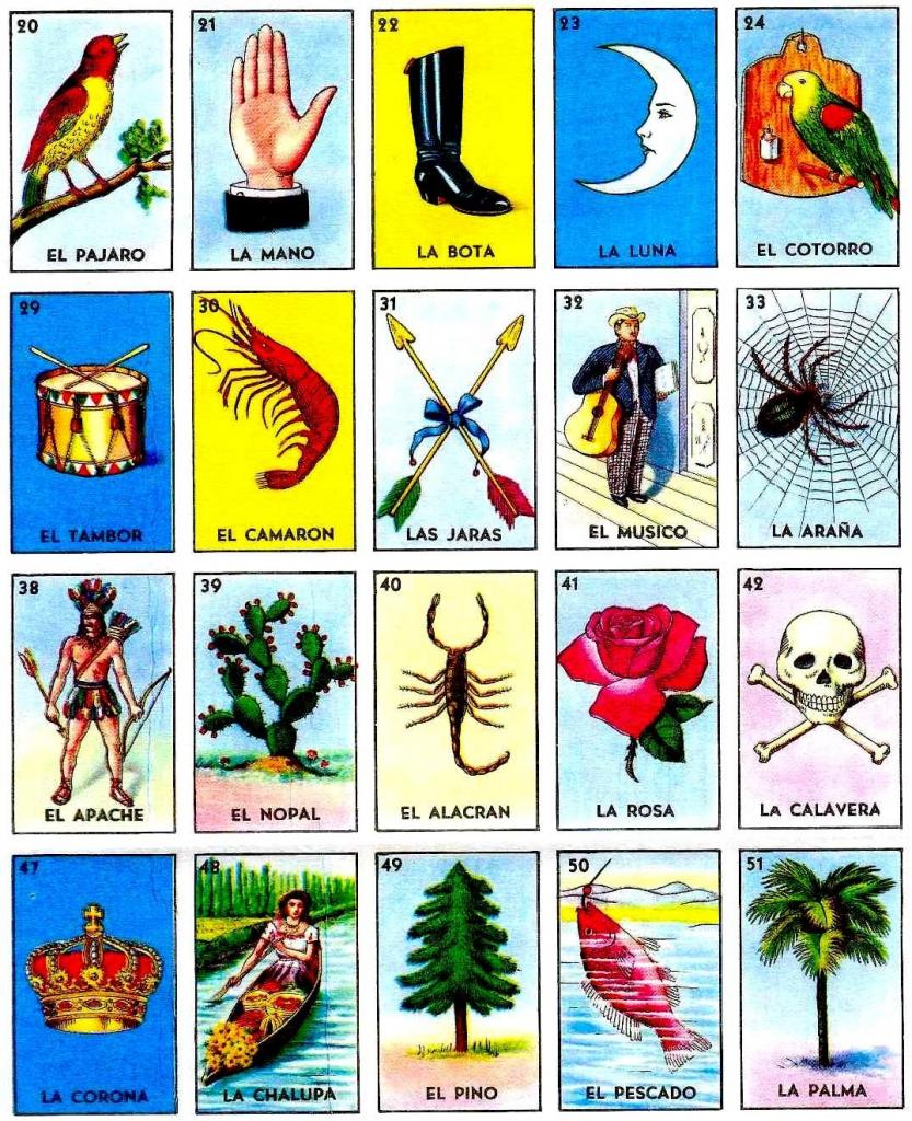 Loteria Printable Cards Free   Free Printables   Free Printable Loteria Cards