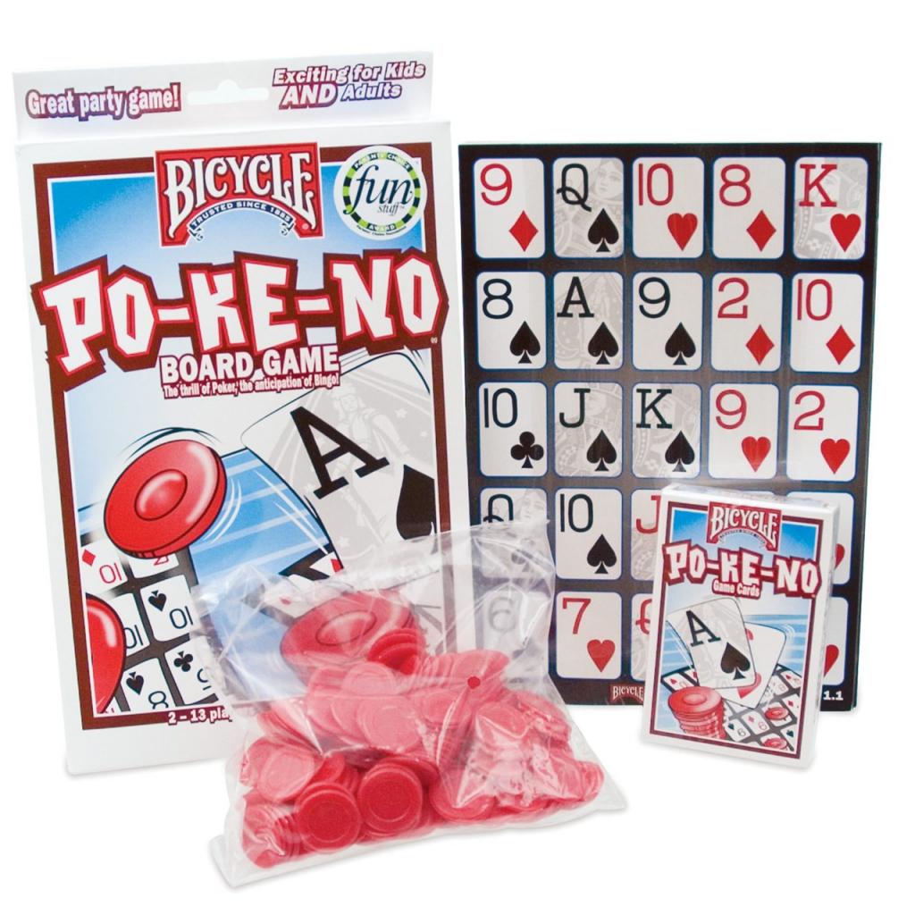 Low Vision Po-Ke-No Board Game | Free Printable Pokeno Game Cards