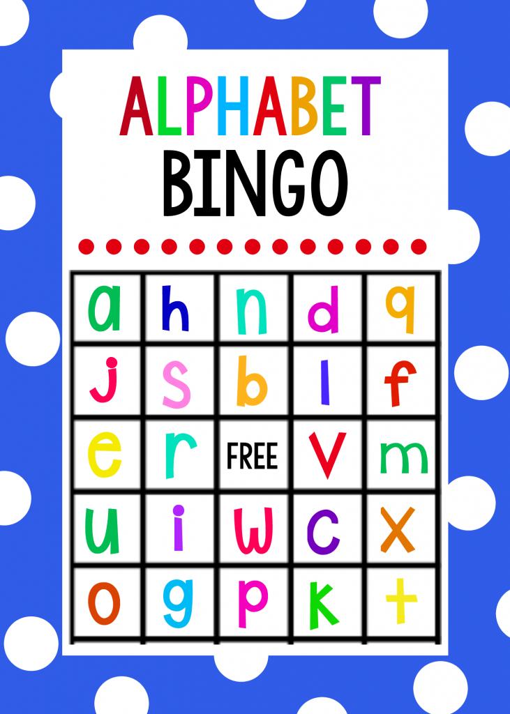 Lowercase Alphabet Bingo Game - Crazy Little Projects   Free Printable Alphabet Bingo Cards