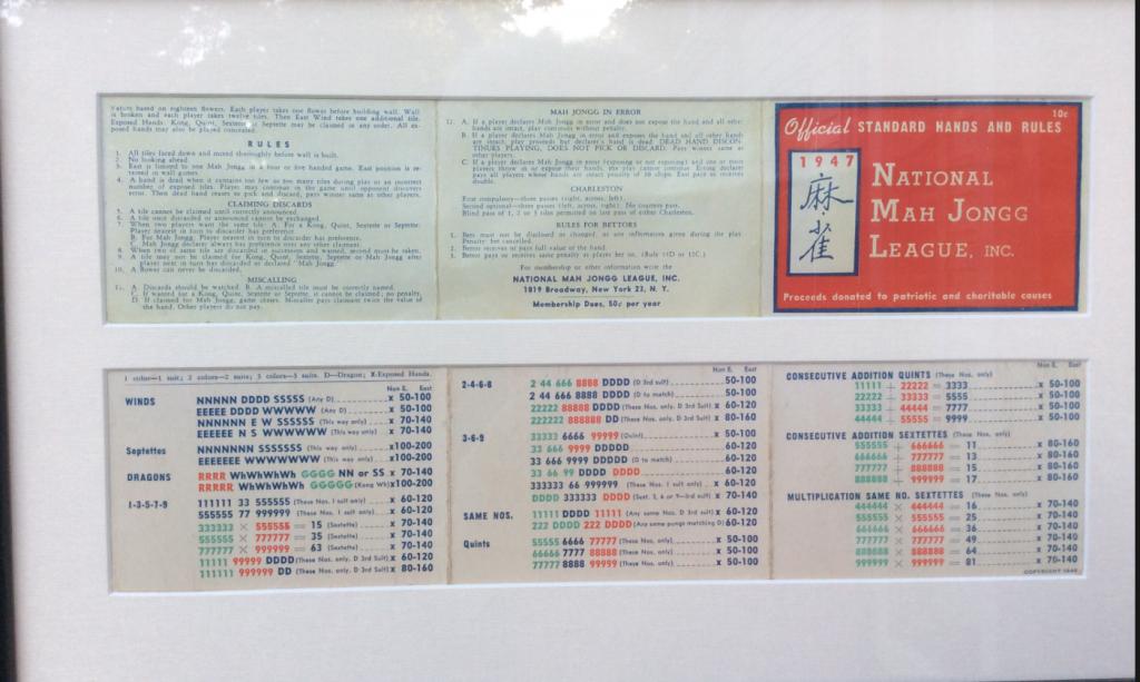 Mah Jongg Card 2017 Printable Related Keywords & Suggestions - Mah | Mahjong Cards Printable 2017