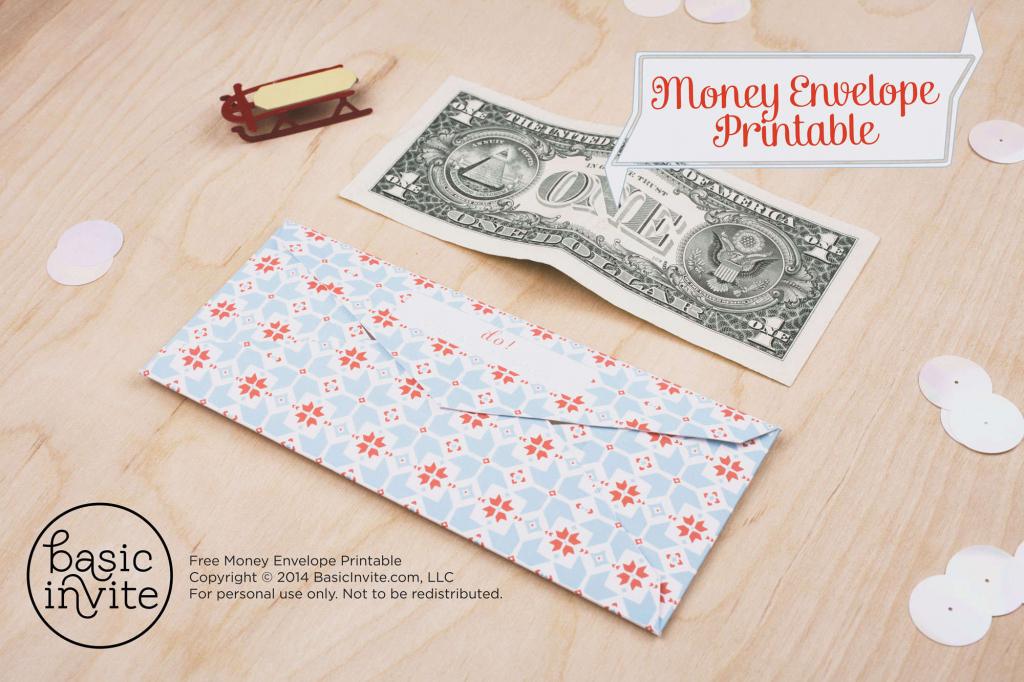 Money Envelope Printable | Free Printable Money Cards For Birthdays