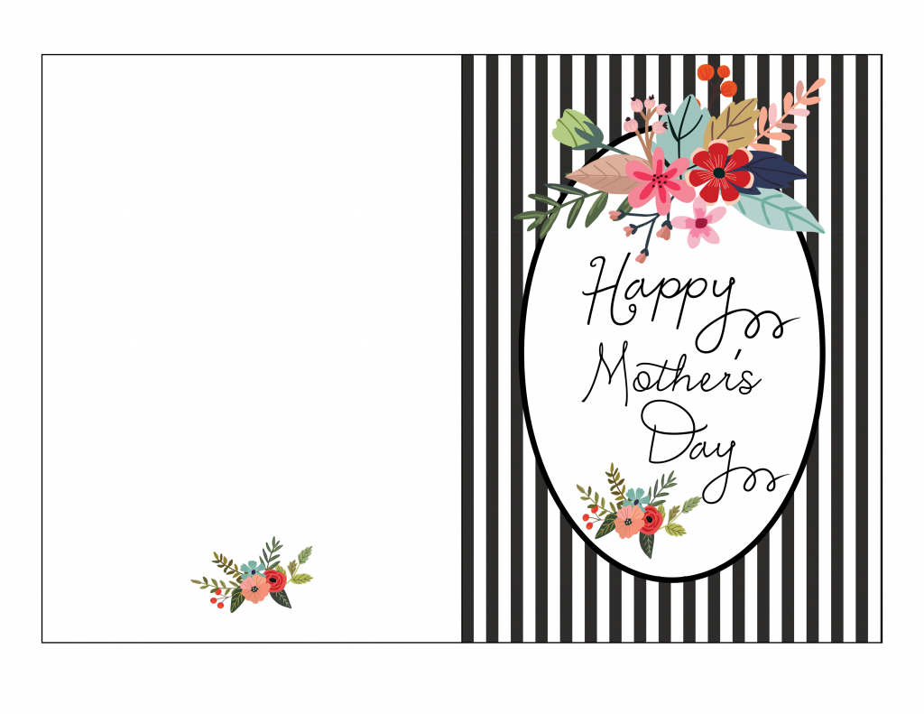 Mother S Day Card Template - Kleo.bergdorfbib.co   Mother's Day Card Maker Printable