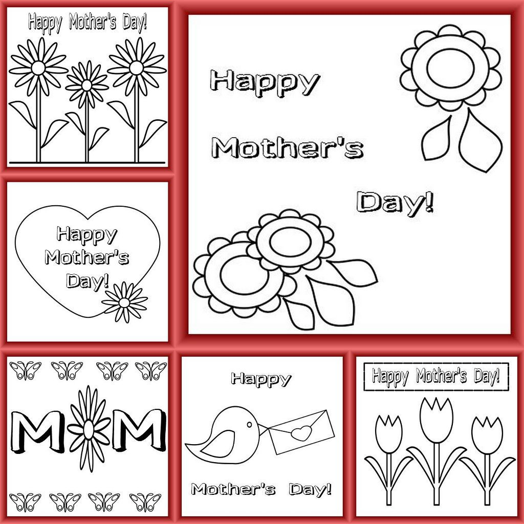 Mother's Day Is Coming Up In The Uk - Have A Look At Our Free   Printable Mothers Day Cards For Preschoolers
