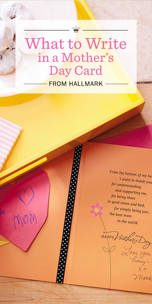 Mother's Day Messages: What To Write In A Mother's Day Card   Hallmark Printable Mothers Day Cards