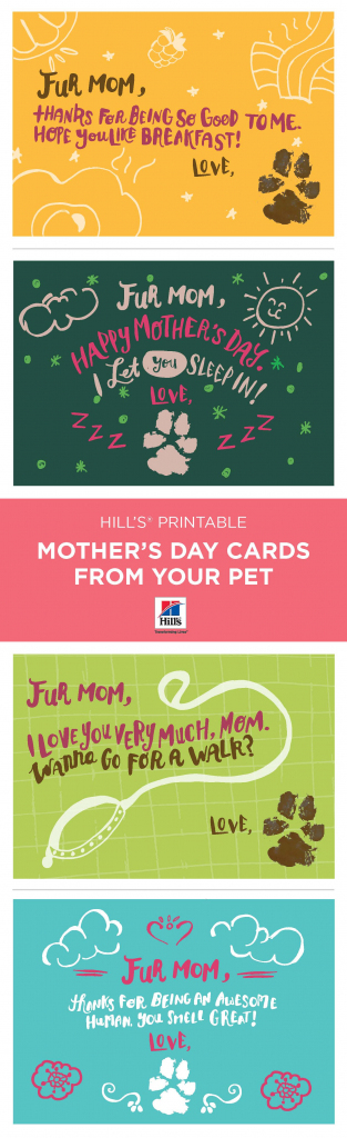 Mother's Day   Things We Love   Dog Mothers Day, Mothers Day Cards   Free Printable Mothers Day Card From Dog