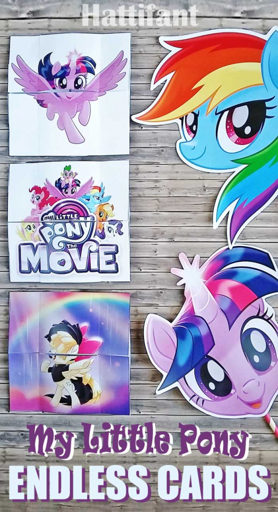 My Little Pony Endless Cards - Hattifant | My Little Pony Printable Cards