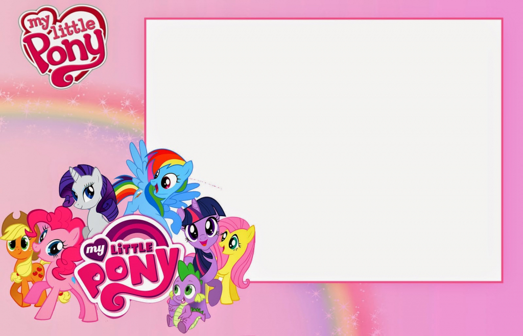 My Little Pony Party: Free Printable Invitations. | Oh My Fiesta! In | My Little Pony Printable Cards