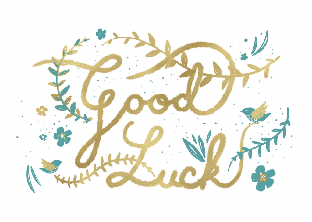 Natural Luck - Good Luck Card (Free) | Greetings Island | Printable Good Luck Cards