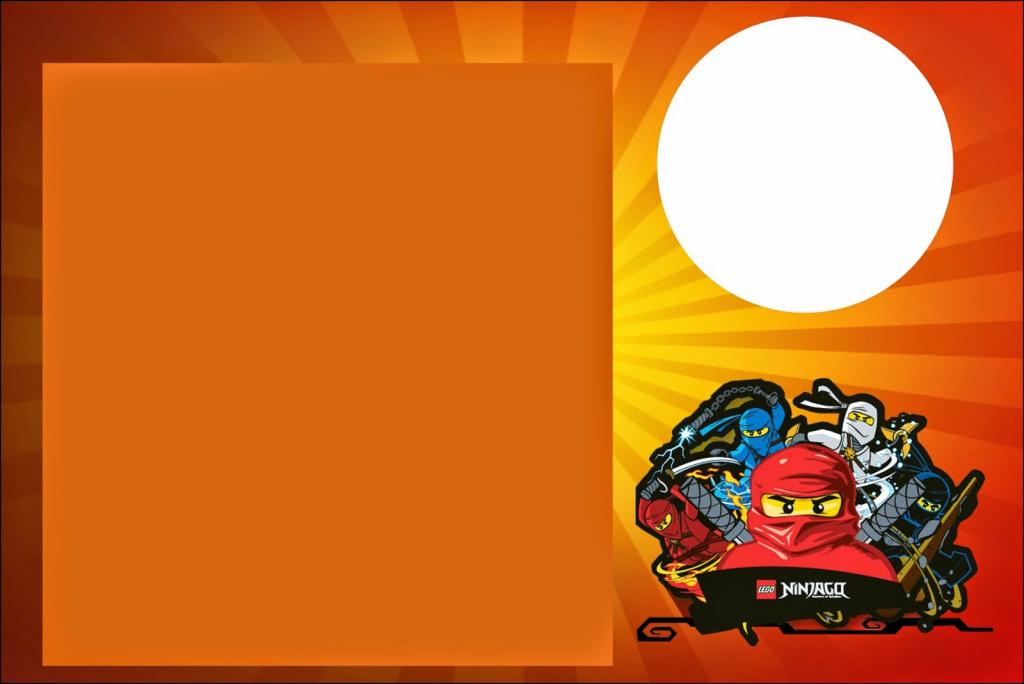 Ninjago: Free Printable Invitations. - Oh My Fiesta! For Geeks | Ninjago Printable Birthday Card