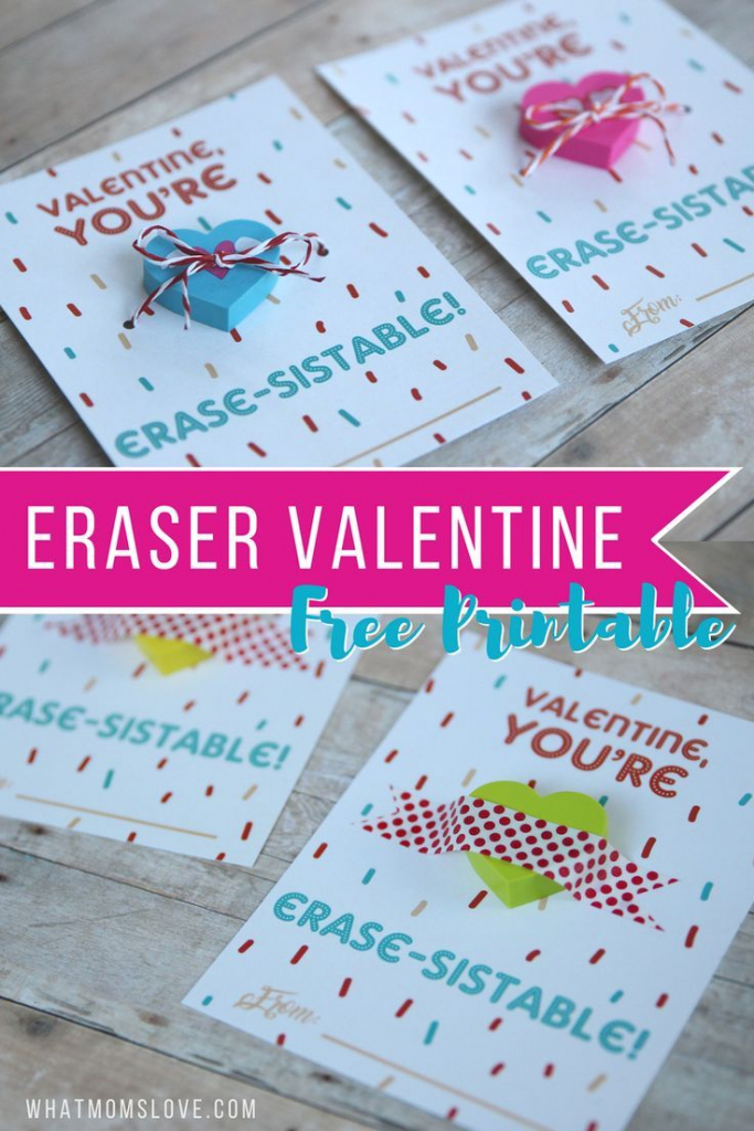 """Non-Candy Printable Valentine Perfect For The Classroom: """"You're 
