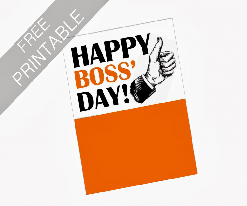 Oil And Blue: Free Printables - Happy Boss' Day Card | Party Ideas | Bosses Day Cards Printable