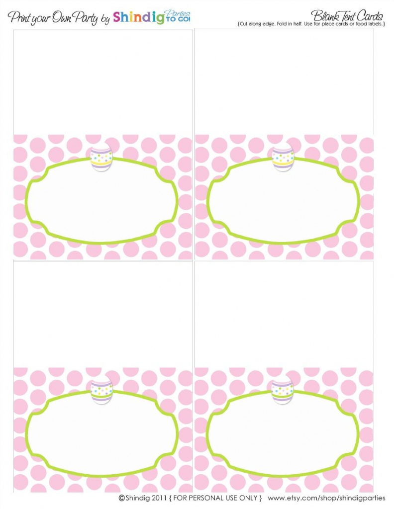 Operation Shower Easter | Páscoa V | Easter, Easter Templates | Free Printable Food Tent Cards