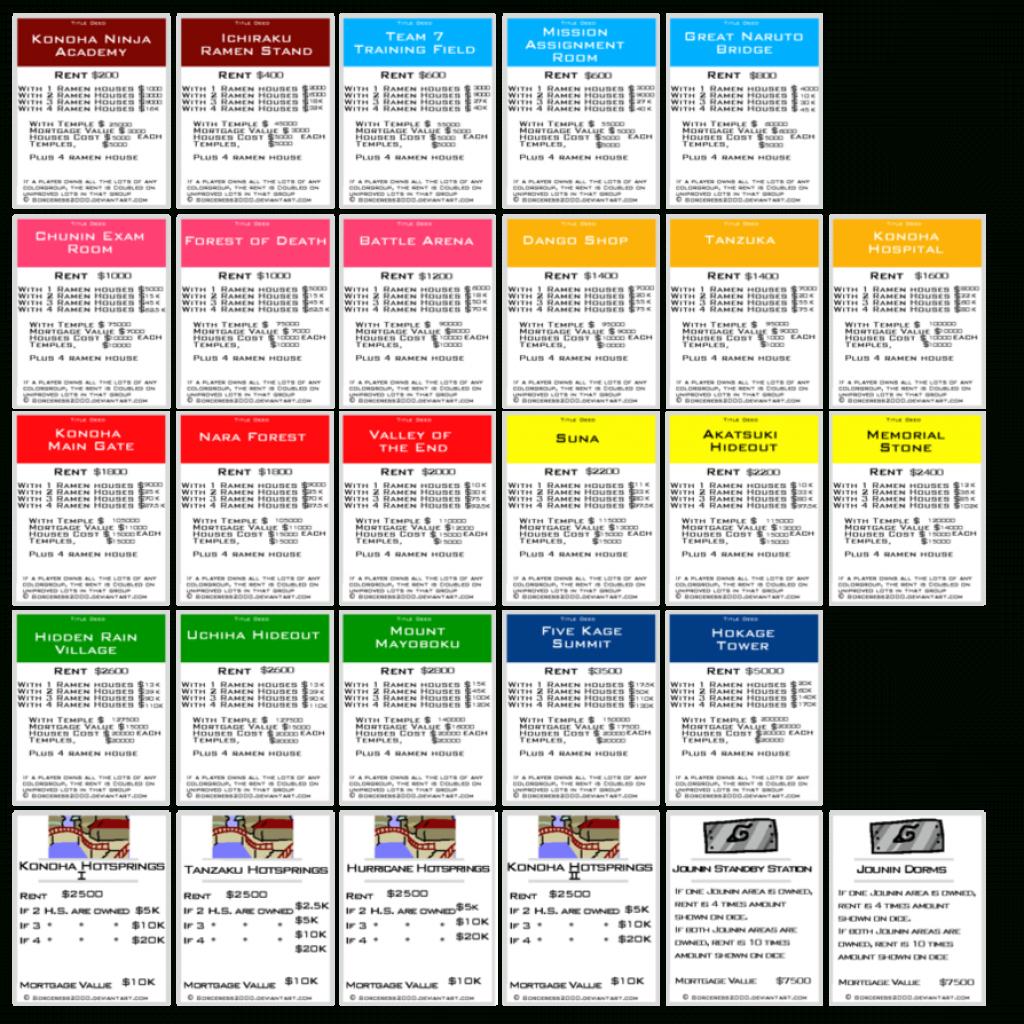 Original+Monopoly+Property+Cards+Printable | Monopoly | Monopoly | Printable Monopoly Property Cards