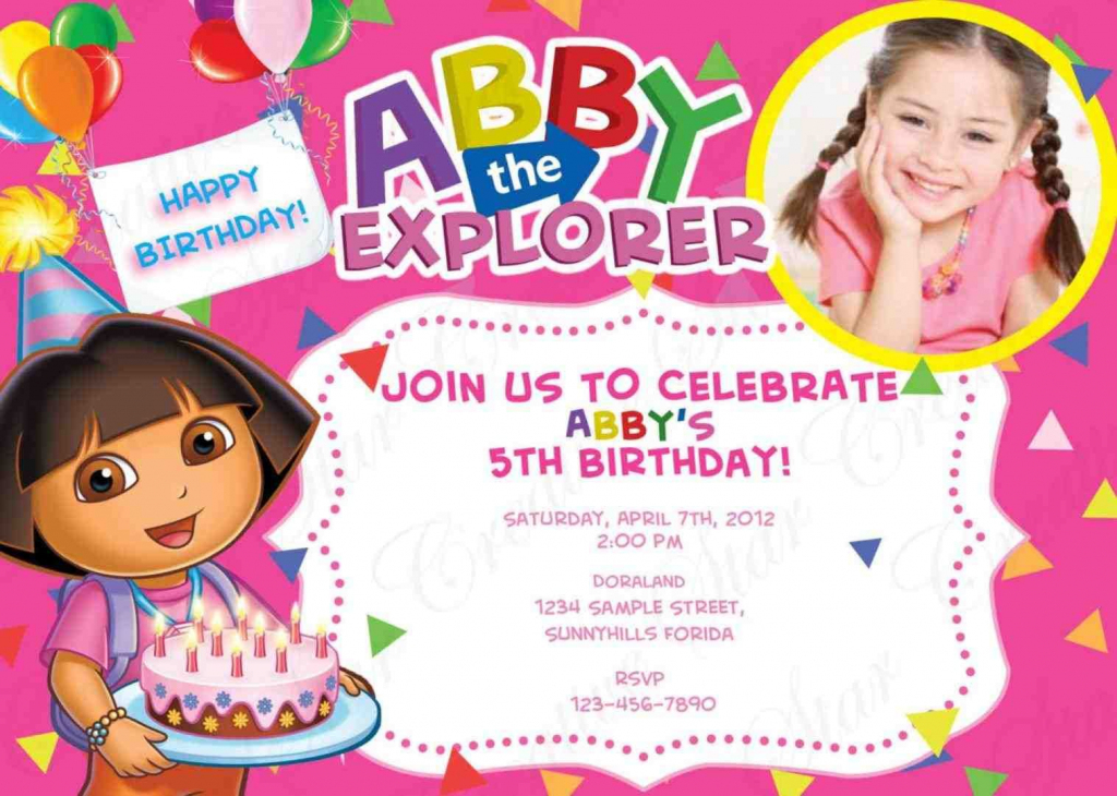Others : Free Printable Sport Themed Birthday Invitation Card For | Dora Birthday Cards Free Printable
