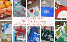 Over 50 Printable Gift Card Holders For The Holidays | Gcg | Gift Card Printable Envelope