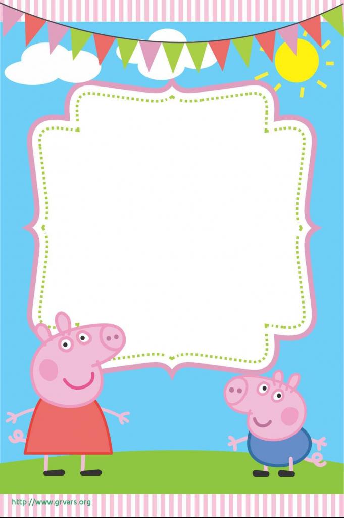 Peppa Pig Birthday Card Meilleur De Free Peppa Pig Printable | Pig Birthday Cards Printable