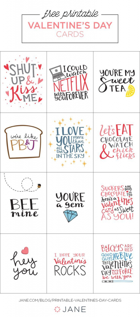 """Pin""""cents""""able Momma - Corrie   Money Saving Expert On   Valentine's Day Card Printable Templates"""
